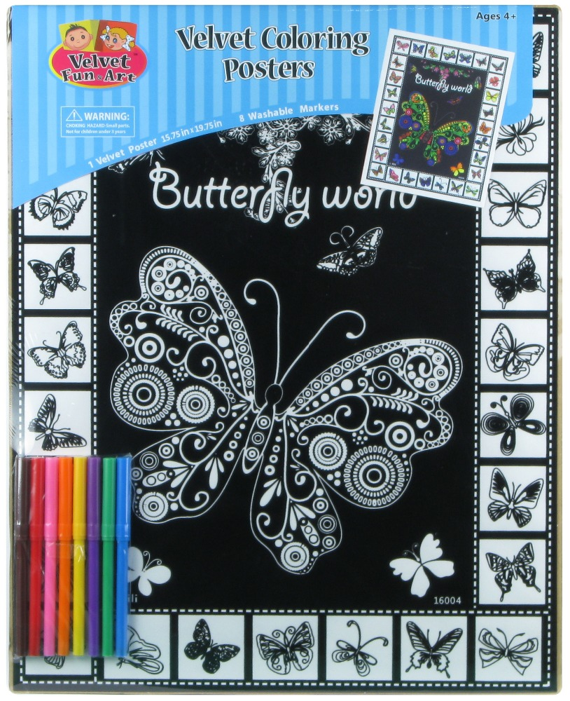 100% Quality Assurance Fuzzy Posters Butterfly Western Graphics Corp ...
