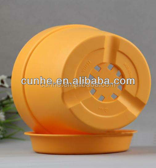 Plastic Material and PP Plastic Type Garden Outdoor Durable plastic flower pots