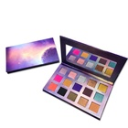 High quality private label glitter custom eye shadow refillable makeup eyeshadow palette