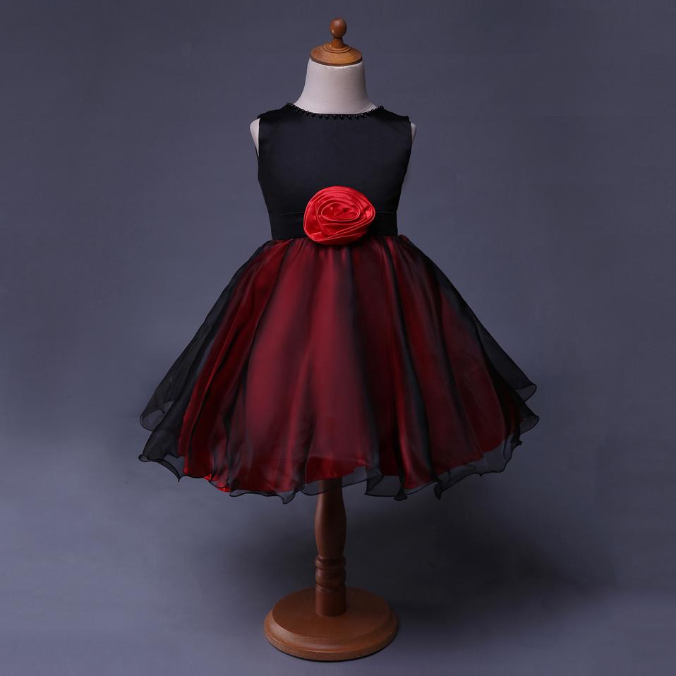Venta al por mayor vestidos de niña 6 noche-Compre online los ...