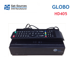 IPTV Satellite Receiver Globo 405 with LAN support WiFi CCCam Newcamd Youtube Powervu Biss better than Mag250