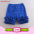 2017 Wholesale Children Summer Newest Floral Pattern Shorts Baby Icing Shorties Triple Ruffle Shorts Girls