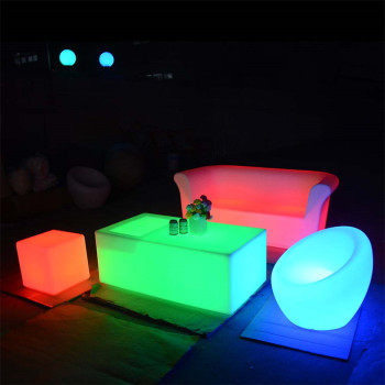 light up furniture outdoor led furniture set sectional sofas chair table with lighting for party event wedding