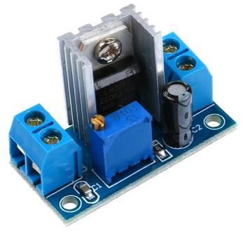 dc voltmètre descendez circuit lm317 régulateur de tension buck convertisseur