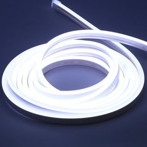 AC 110-220V Flexible RGB LED Neon Light Strip, 120 LEDs/M, Waterproof, Multi Color Changing 5050 SMD LED Rope Light