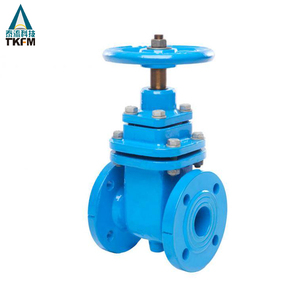 "resilient seated 3"" 4"" cast iron non rising stem pn16 api 6a epdm lined gate valve prices symbol"