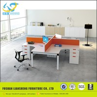 2016 foshan furniture market for 4 person office workstations modular