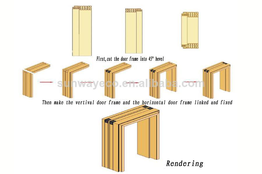 Pvc Door Frame Detail : Cladding pvc window and door frame tcf a buy