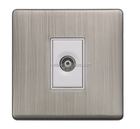 Metal N Range- British Standard coaxial socket, single outlet or twin outlet
