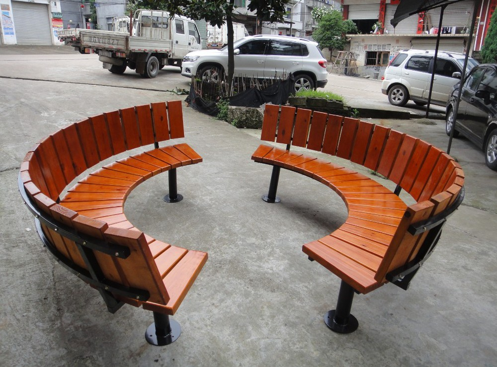 Modern Design Cheap Outdoor Waterproof Round Garden Bench