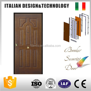 Burglar proof molded Italy styles security door