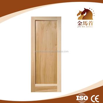 Australia Construction OAK Timber Door Design, Smooth Surface Solid Wood  Flush Door