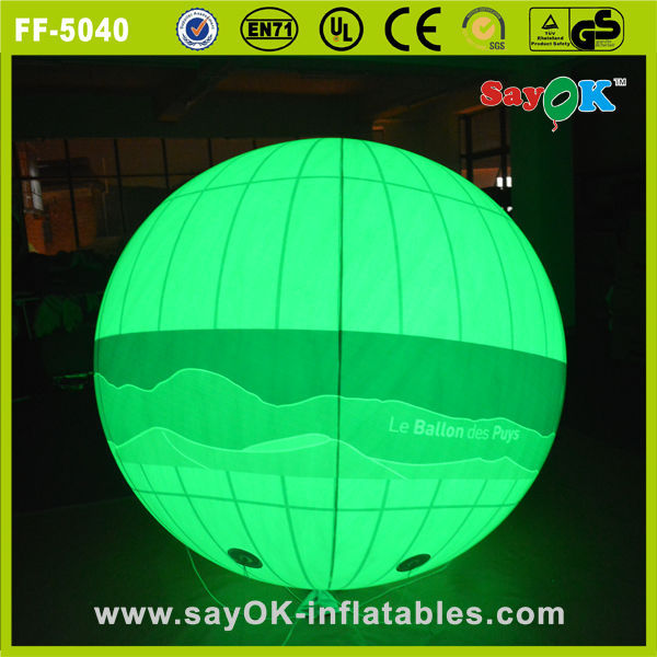wholesale inflatable helium balloon with led