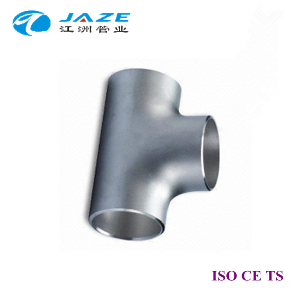 Pressing Pipe Fittings Stainless Steel Price Equal Tee 2inch SCH10S