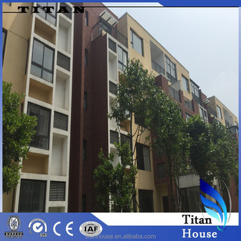 High Quality Light Steel Prefabricated Modular Apartment for Sale ...