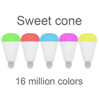Voice Alexa Google home colorful life smart controlled alexa wifi led bulb lamp