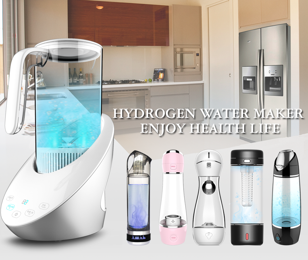 Hydrogen water ionizer alkaline anti aging peroxide concentrated hydrogen fuel cell