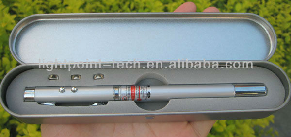 4 in 1 multifunction Extendable presentation red laser pointer pen
