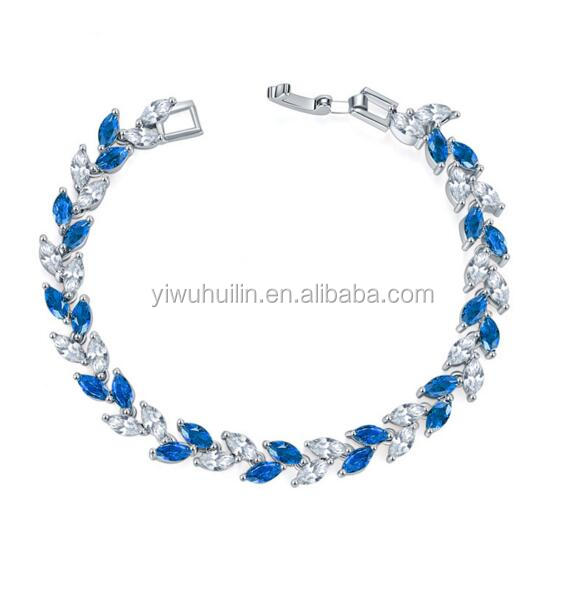 KS0004 Huilin Jewelry Fashion design factory price ladies bracelet designs new designs zircon crystal bangle