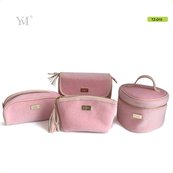 170a16e67a High quality elegant pony fur pink cute wholesale nice price fashion travel cosmetic  bag