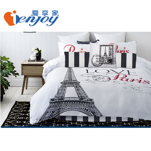 2018 7PCS Micro Fiber King Size Bed Comforter Set