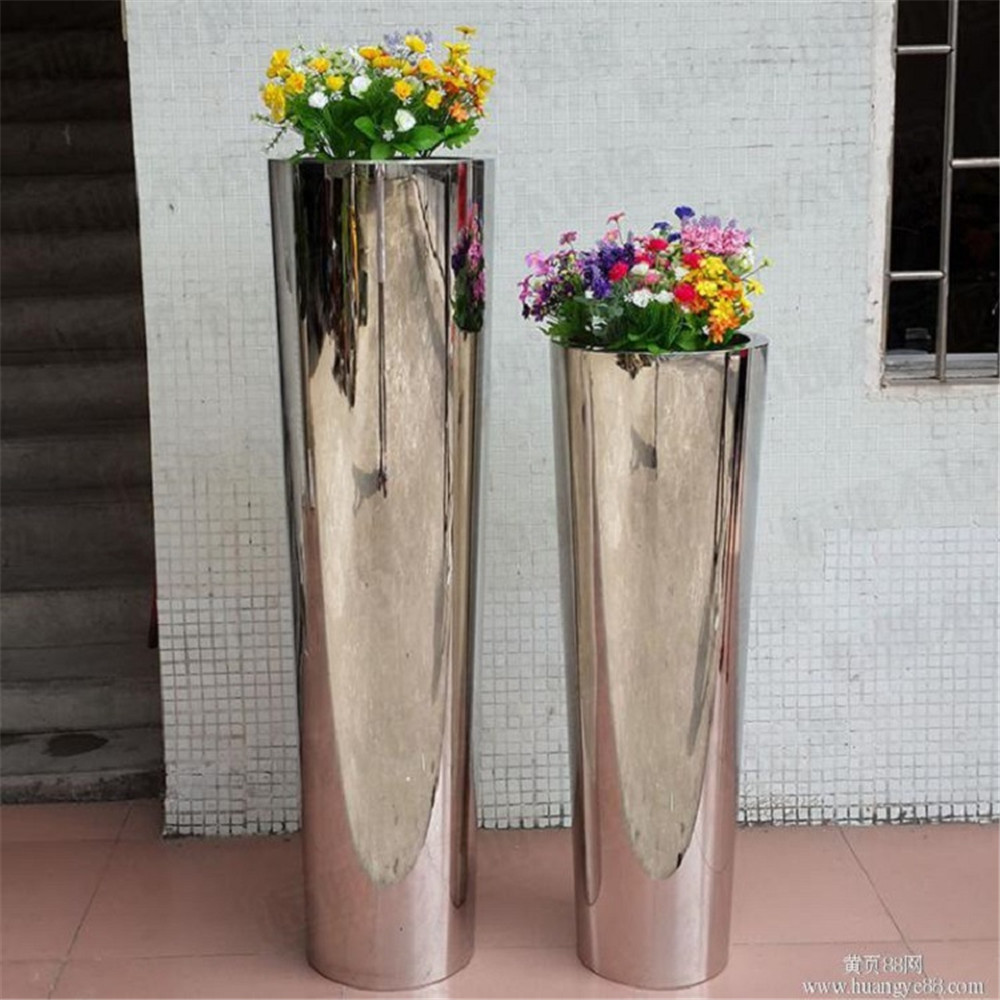 Alibaba & Wholesale Mirror Finish Metal Flower Vase - Buy Large Flower VasesTall Metal VasesStainless Steel Flower Vase Product on Alibaba.com