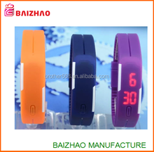 custom logo Silicone Digital LED Sports Bracelet Wrist Watch ,new fashion led watch