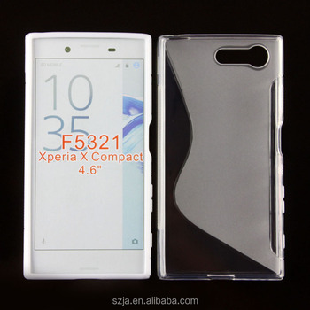 competitive price 16a4d 90182 Soft S Line Tpu Case For Sony Xperia X Compact F5321 Gel Case - Buy Soft S  Line Tpu Case,For Sony Xperia X Compact F5321,For Sony Xperia X Compact ...