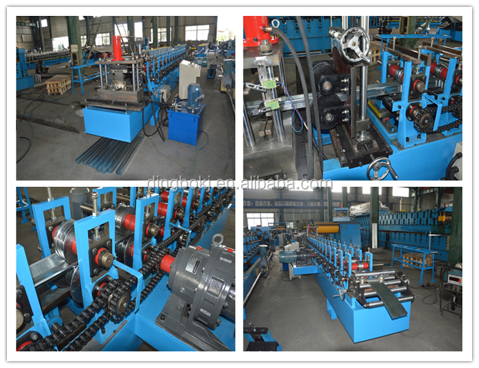 C Kanal Roll Forming Maschine