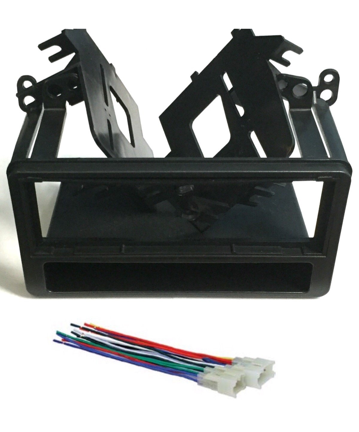 Get Quotations · ASC Audio Car Stereo Dash Kit and Wire Harness for  installing a Single Din Radio for
