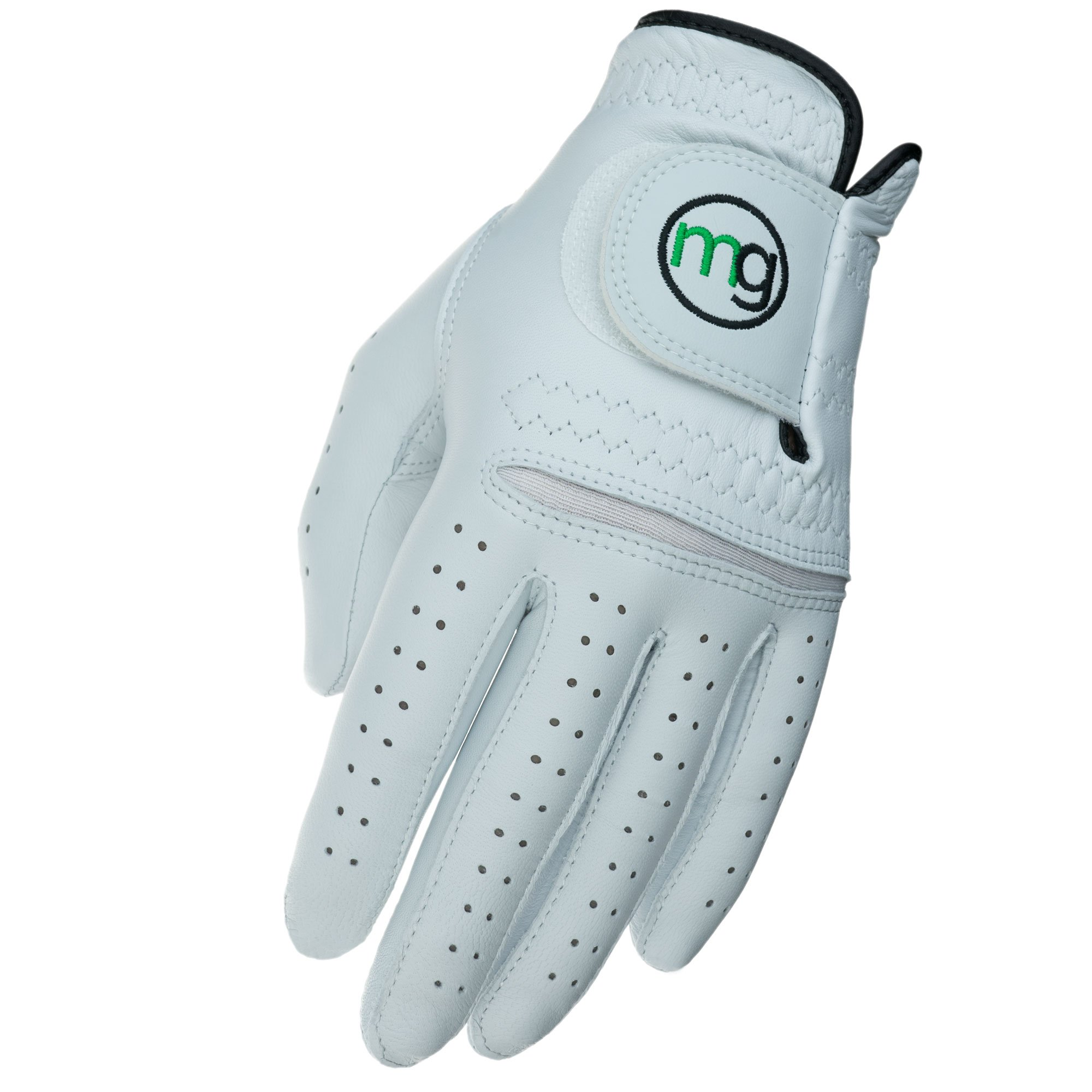 MG Golf DynaGrip Elite All-Cabretta Leather Golf Glove (Men's Cadet Sizes)