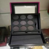 Dongguan empty cosmetic box eye shadow palette cardboard packaging boxs