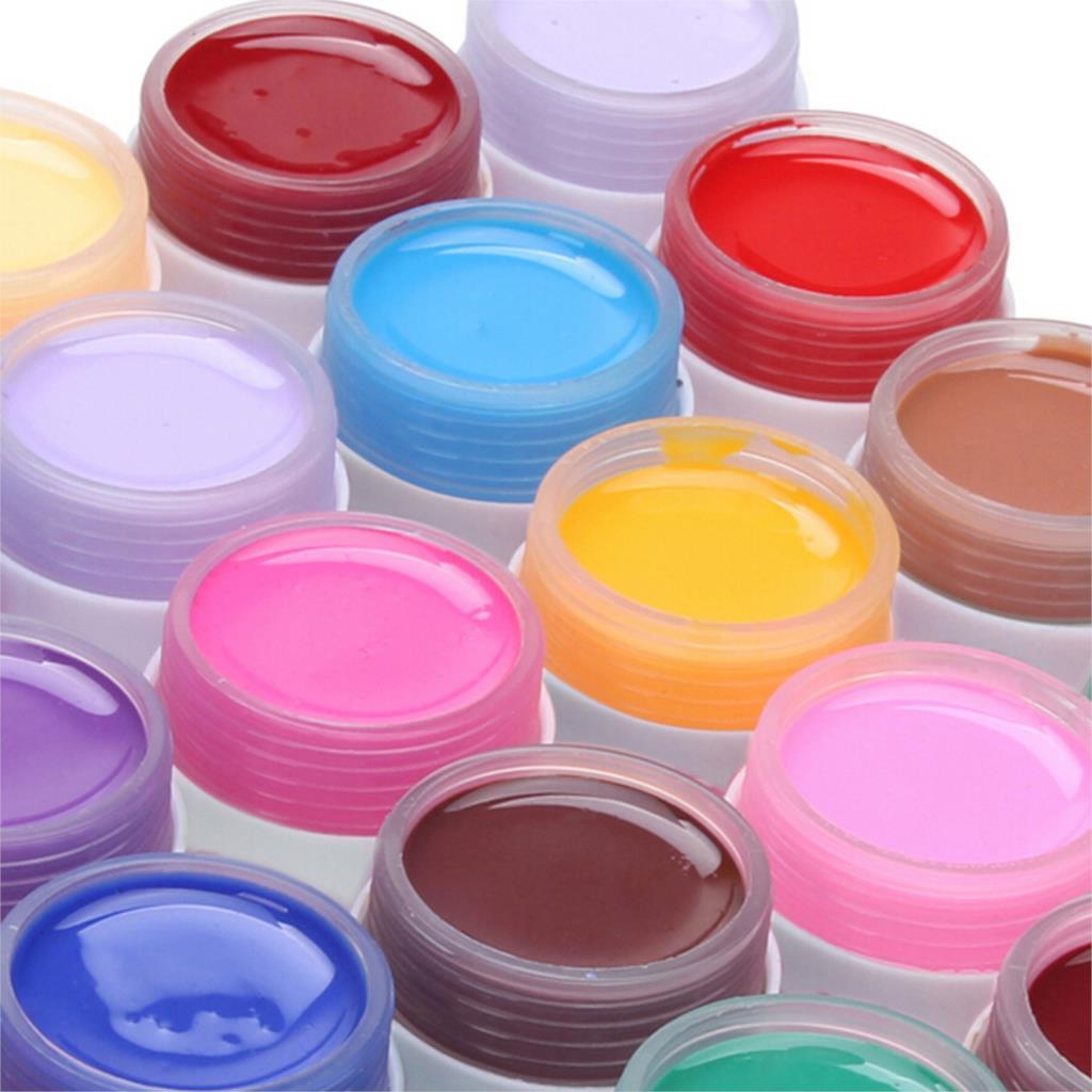 2016 high quality hot sale 36 Colors Nail Gel Pure Nail Polish Shiny Extension Nail Art