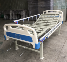 Dimension size tailor made two cranks manual operated useful hospital bed for patients with good price for sale BH-202L