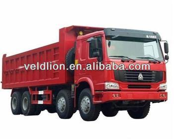 China Sinotruk 35t 8X4 HOWO A7 Dump Truck Dumper - China