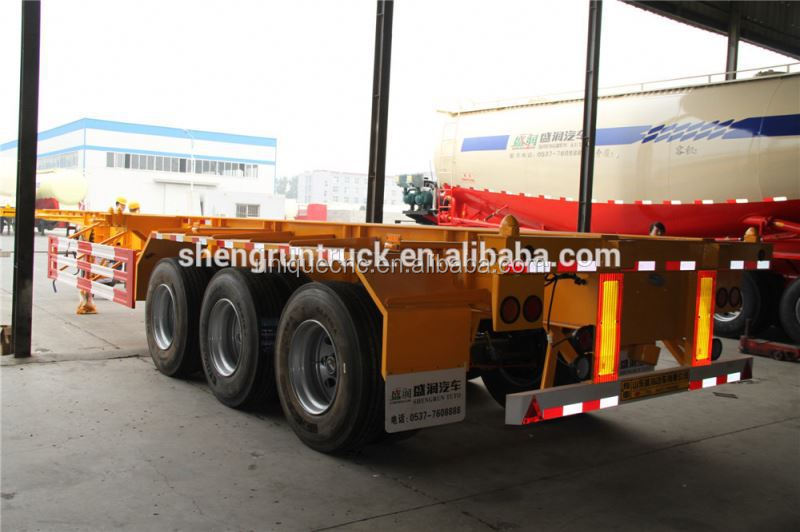 High speed Factory Supply Low Cost for aluminium skeleton container trailer