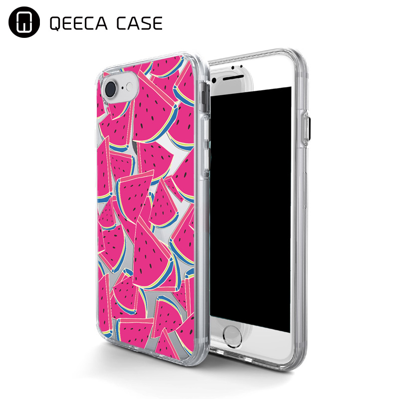 Clear rubber design your own mobile custom fashion silicone phone cases for iphone 5, 6, 7&SE