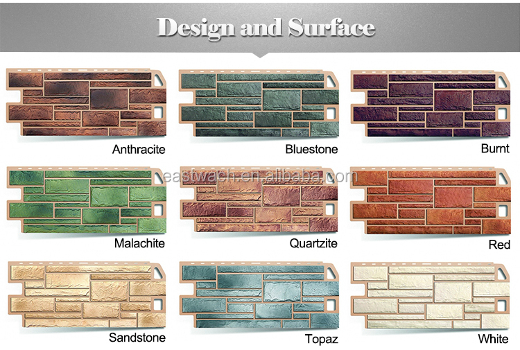 Artificial stone tile for exterior and interior wall faux - Revestimiento piedra artificial ...