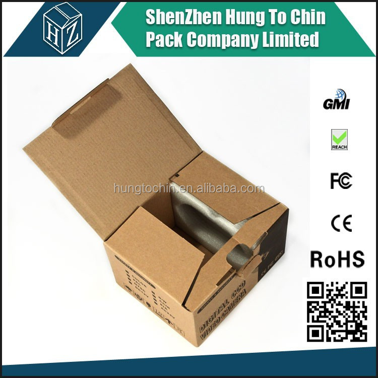 Electronic product package carton box