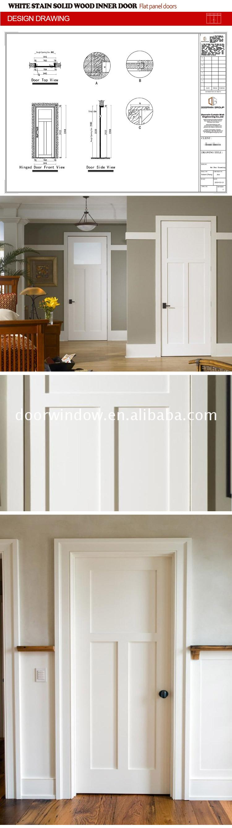 Professional factory flat panel closet doors double interior bedroom