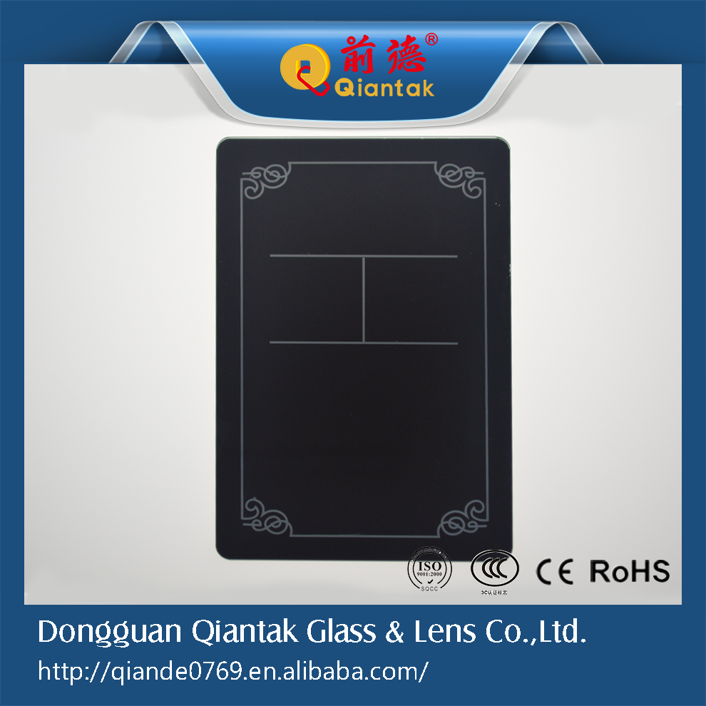 2015 Factory Custom Back Printing Art <strong>Glass</strong>, <strong>Glass</strong> Touch Control Panel