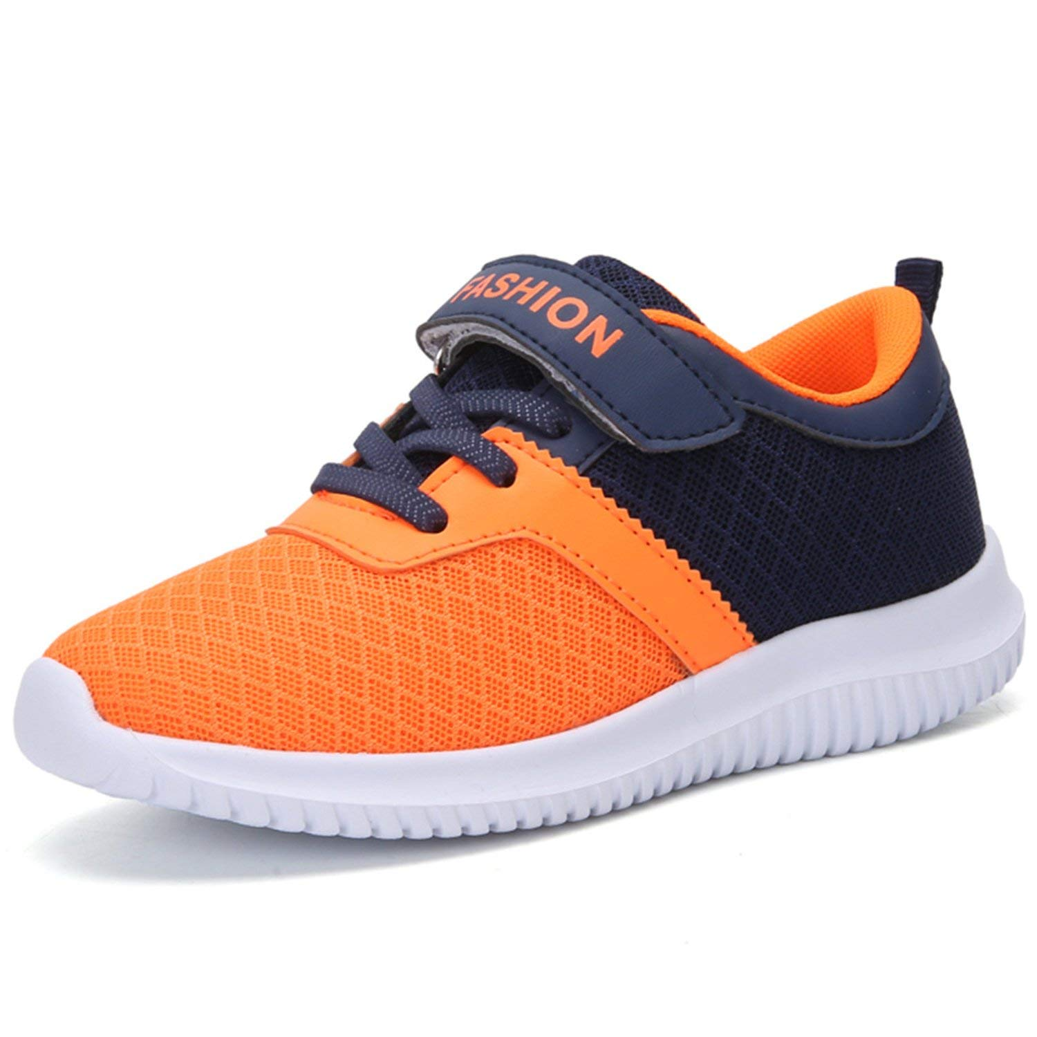 7527b4e803e Get Quotations · FEETCITY Kids Sneakers Lightweight Breathable Mesh Sports  Running Shoes for Boys and Girls