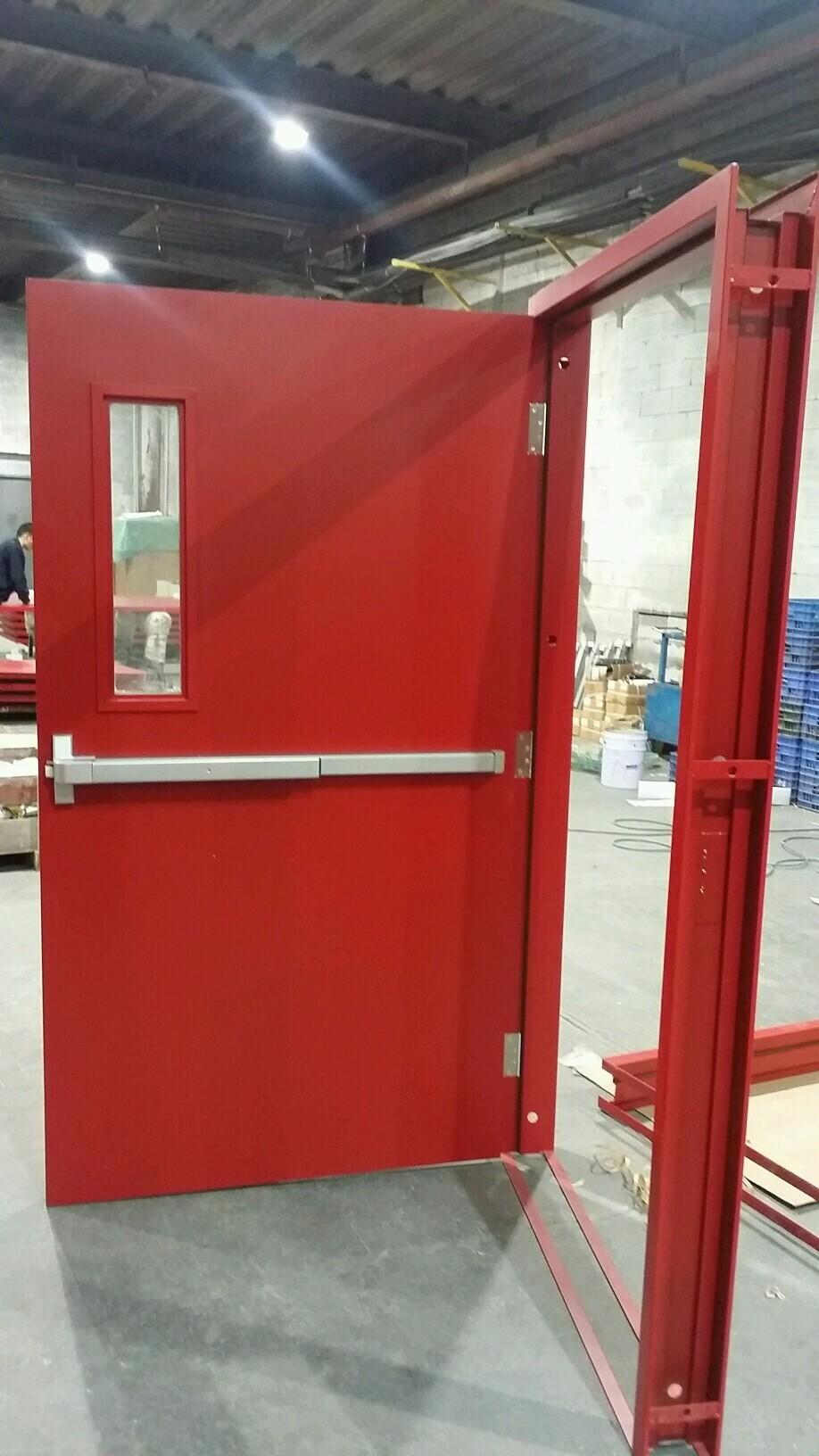 UL standard fire rated steel door