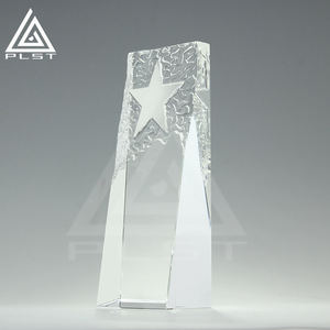 New crystal trophy star trophy crystal award trophy personalized awards