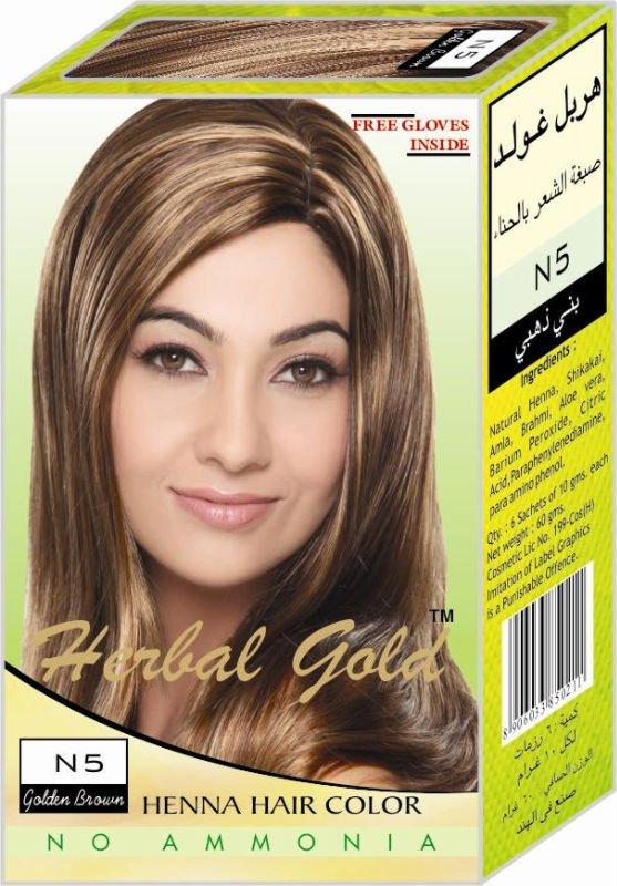 Herbal Gold Golden Brown Henna Hair Color Buy Henna Hair Dye