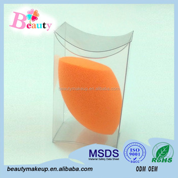 China Supplier Non-latex Magic Cosmetic Exfoliating Face Pad/oval ...