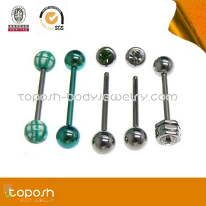 colorful bonus pack industrial barbell piercings