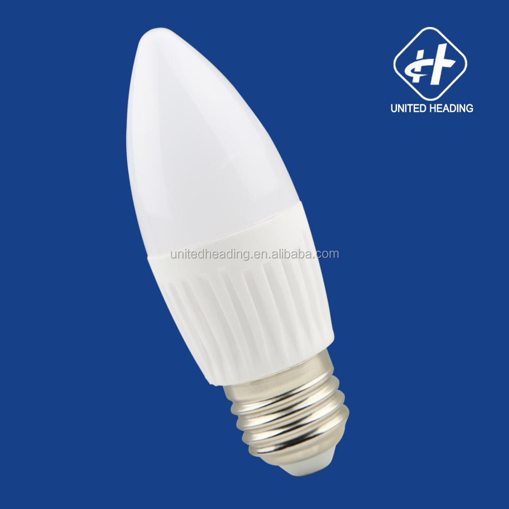 2835smd Ceramic C37 led bulb 3W 4W 5W 6W E14 Led candle light