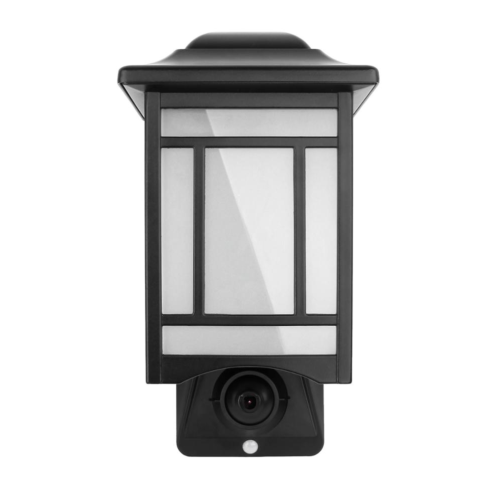 Weatherproof Outdoor Security <strong>Camera</strong> Compatible with Alexa smart light control