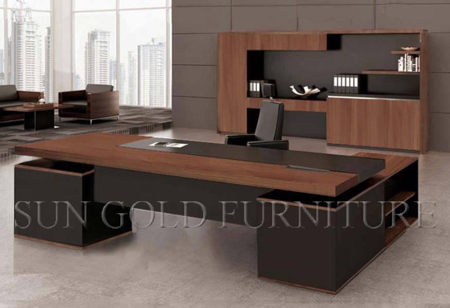 moderne coin de luxe mobilier de bureau bureau en l sz od332 buy product on. Black Bedroom Furniture Sets. Home Design Ideas